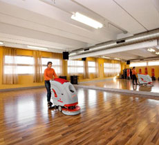 Cleaning firms specialised in large construction sites